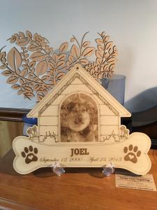 Dog House Pet Memorial Design