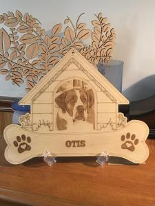 Dog House Pet Memorial Design