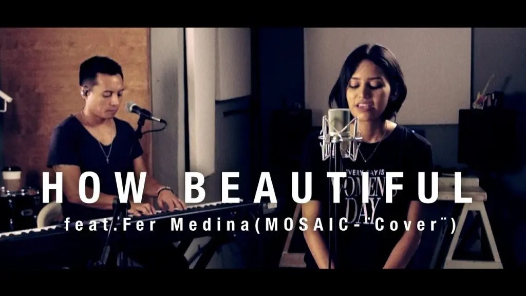 How Beautiful – Mosaic, Cover
