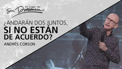Photo of ¿Andarán dos juntos, si no están de acuerdo? – Andrés Corson