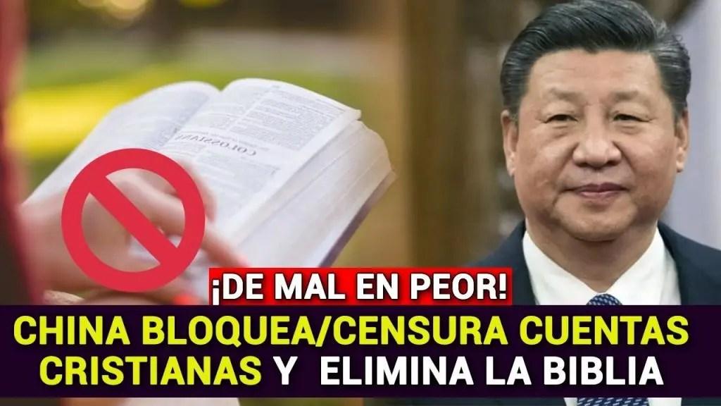 En este momento estás viendo China elimina la Biblia y bloquea en WeChat cuentas cristianas
