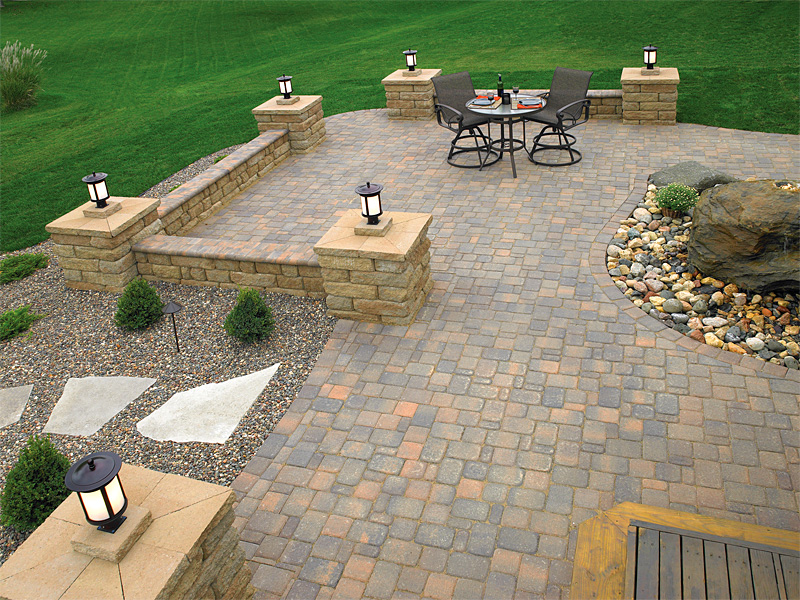 Brick Paver Patios | Enhance Pavers - Brick Paver ... on Paver Patio Designs id=68719