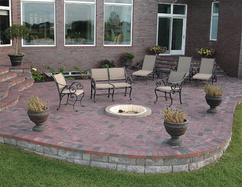 Retaining Walls and Seating   Enhance Pavers, Retaining ... on Patio Block Wall Ideas id=75910