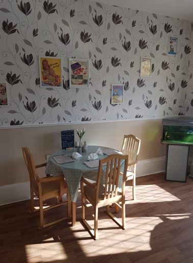 The Firs Dining room