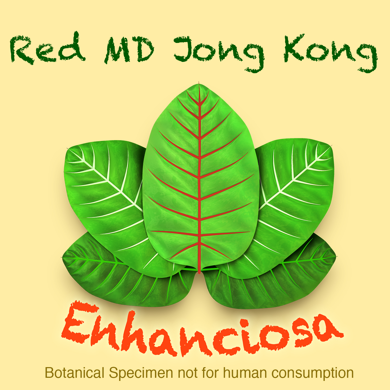 Red Maeng Da Jongkong Kratom Leaf Powder