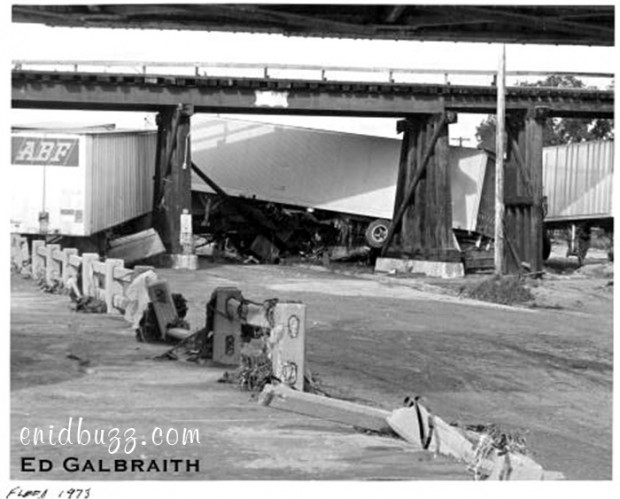 1973 Enid Flood Bridge Damage