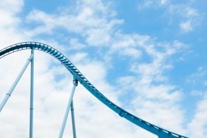 Rollercoaster loops.