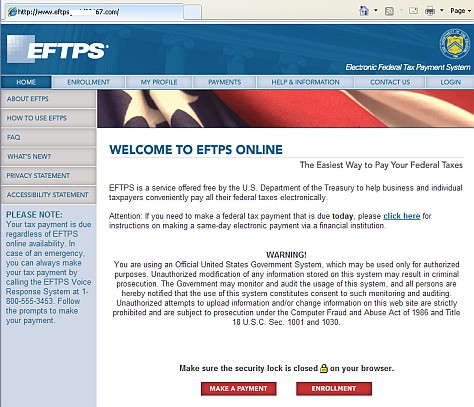 Phishing Email Scam Targets Eftps Taxpayers