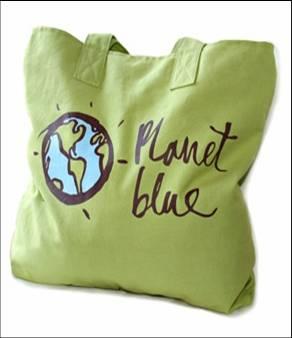 バイマ限定Planetblueトートバッグ