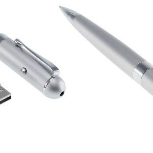 Bolígrafo Láser con Pendrive 8GB
