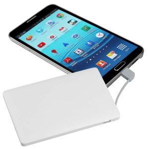 Cargador Power Bank Credit Card 2000mAh