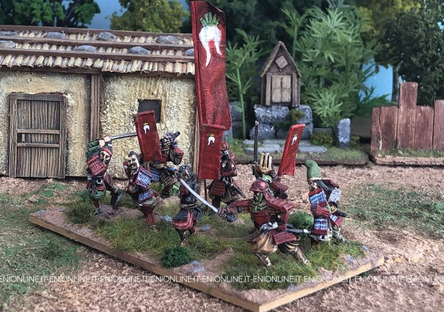Kakizaki clan 28mm samurai