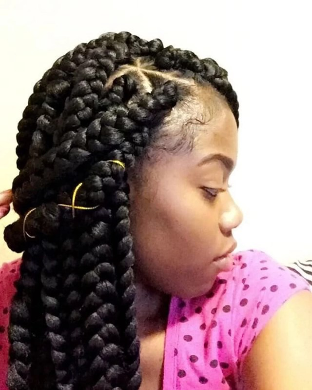 125 incredible jumbo box braids that will have heads turning
