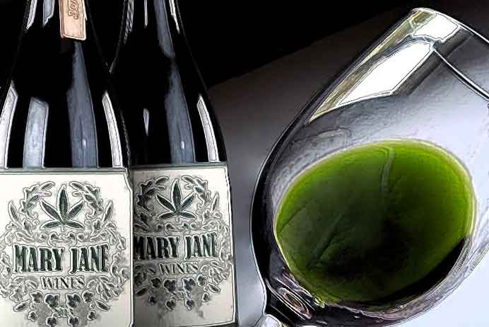 What! Cannabis wine?