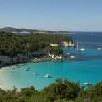 Antipaxos, exotic beach