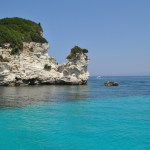 Antipaxos, turquoise waters