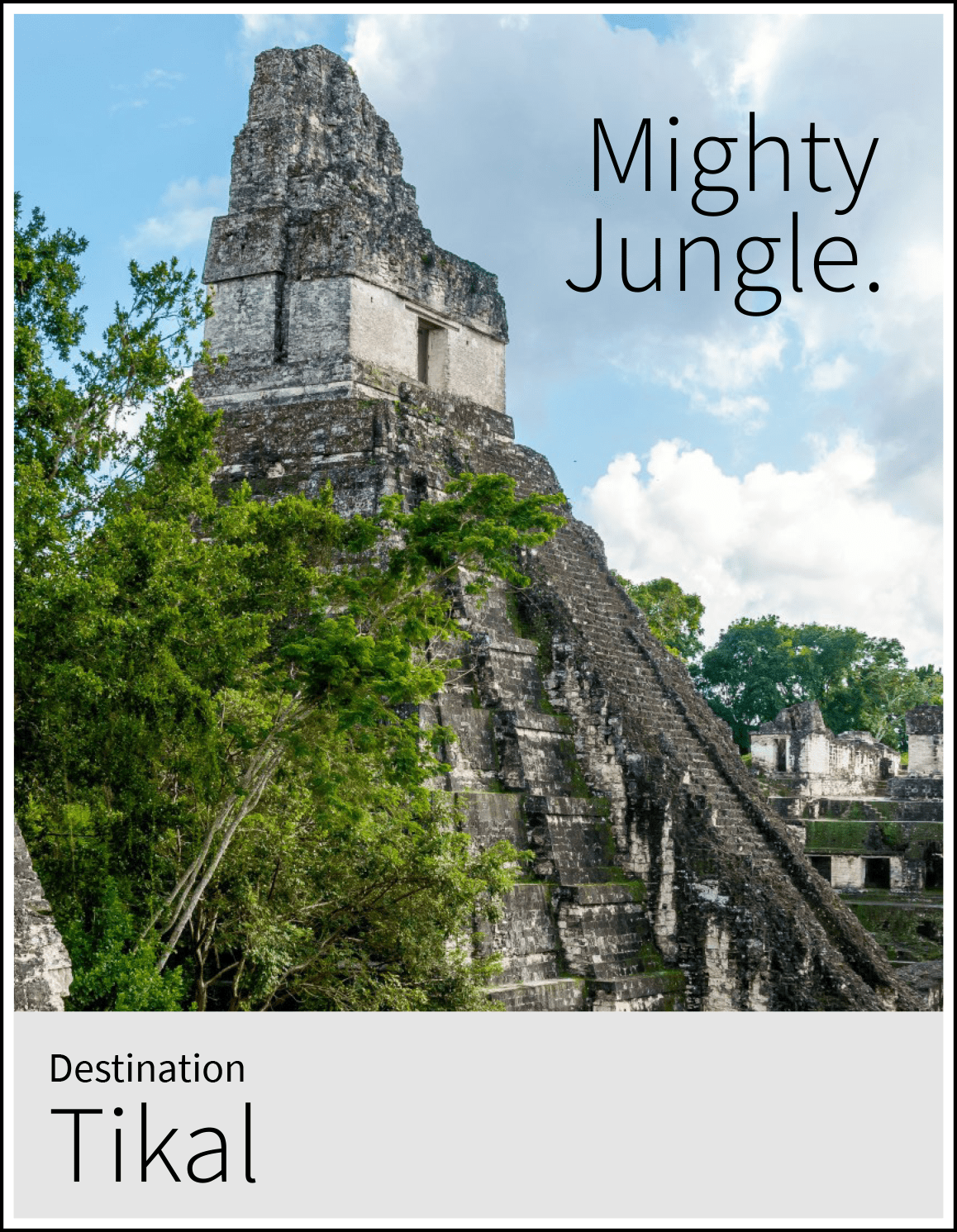 Information about Tikal's history and what to do in Peten.