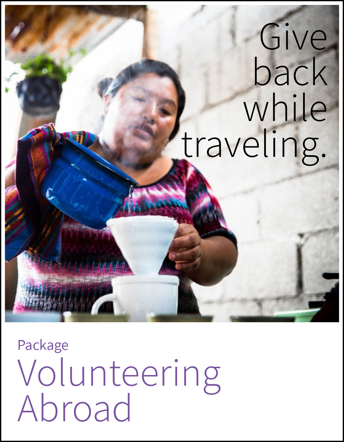 Volunteering Abroad, Antigua's 6-day package.