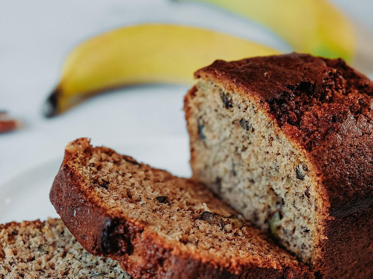 The Easiest Banana Bread