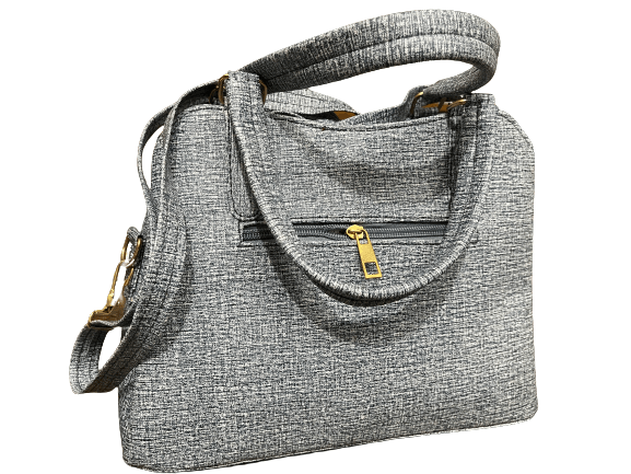Ladies Embroidery Casual Bags Ash Color