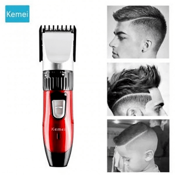 Kemei KM 730 Professional Rechargeable Hair Clipper & Trimmer