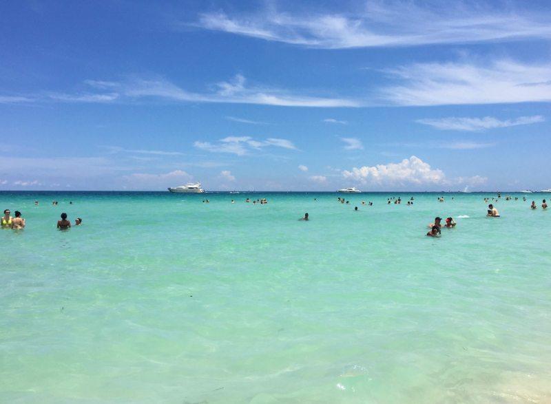 Miami Beach em Junho