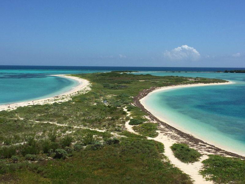 Vista de tirar o fôlego de cima do Fort Tomas Jefferson. Foto: Enjoy Miami