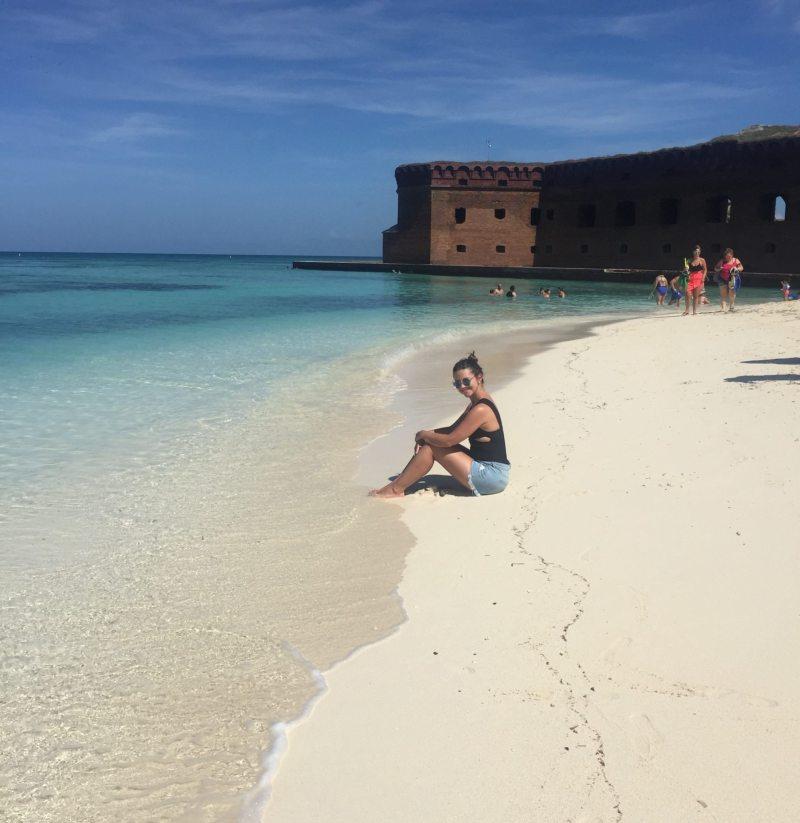 Relax antes de entrar na água cristalina do Dry Tortugas. Foto: Enjoy Miami