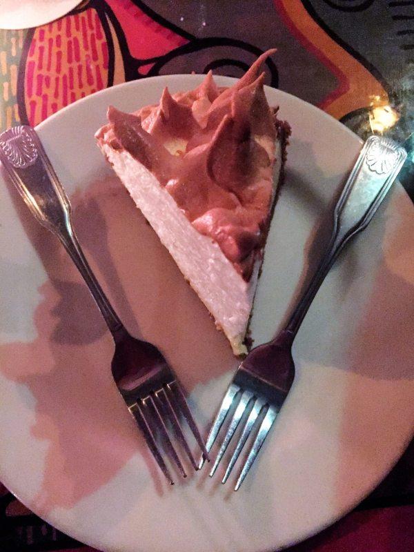 Key Lime Pie do restaurante Blue Haven