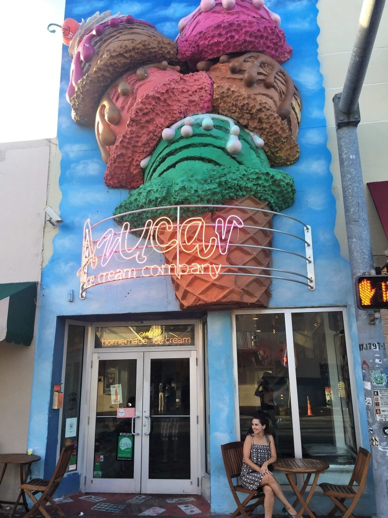 Azucar Ice Cream na Calle 8.