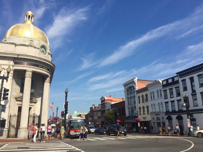 Georgetown, bairro charmoso de Washington D.C.