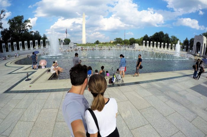 Monumento da II Guerra Mundial - Washington D.C.