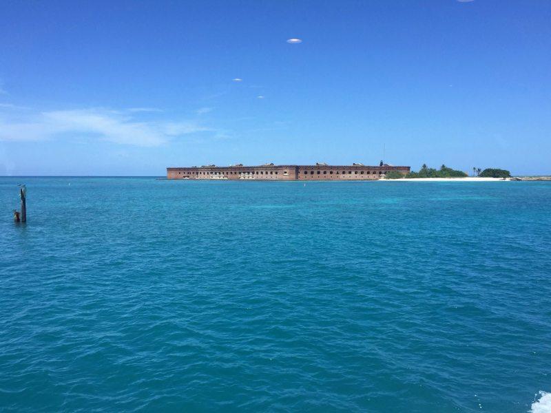 Deixando o Dry Tortugas! Foto: Enjoy Miami