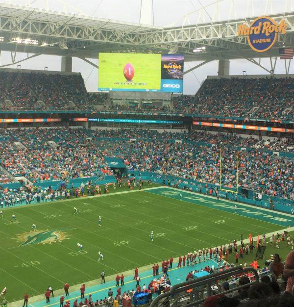 futebol americano em Miami