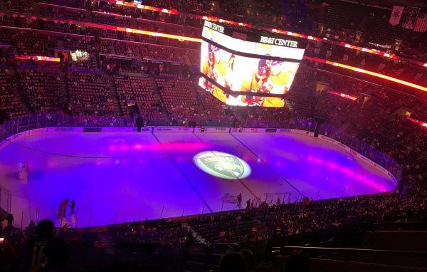 jogo de hockey em Miami
