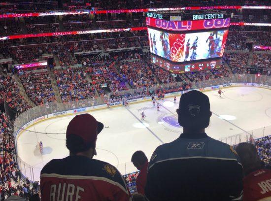 jogos de hockey nos Estados Unidos