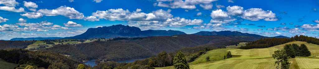 Tasmania's spectacular Mt Roland. Picture: Steven Penton