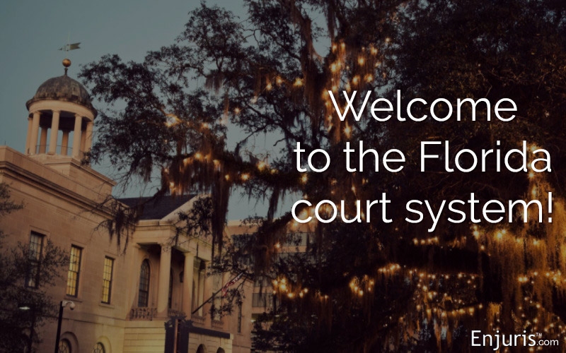 Florida Courts Where Your Personal Injury Claim Goes