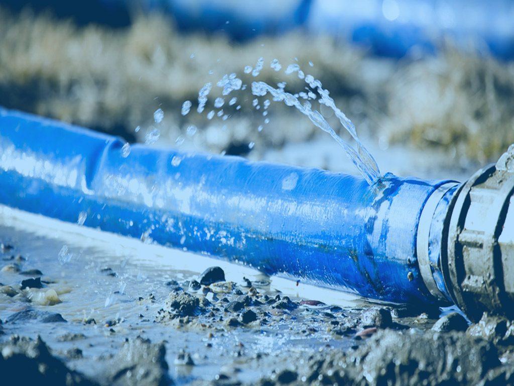 حل مشكلة تسرب المياه