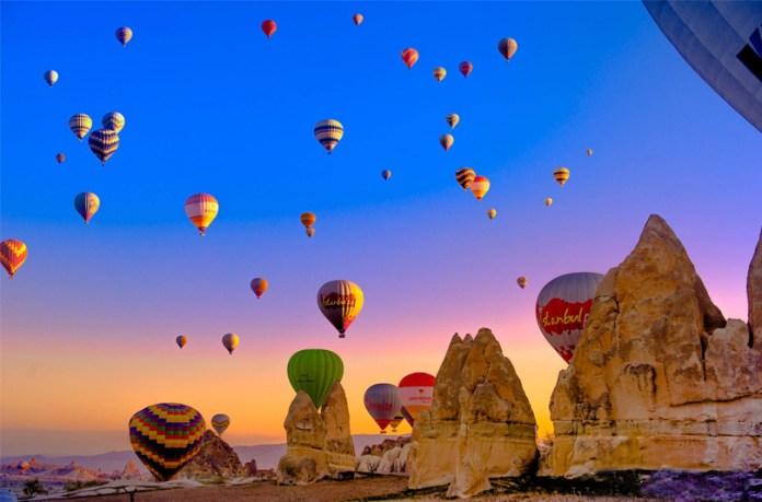 Image result for cappadocia balloons