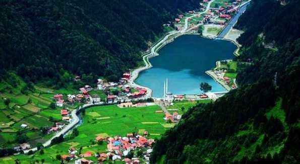 Lake of Uzungol in Trabzon
