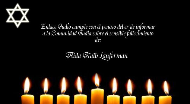 Nos unimos a la pena que embarga a la familia Kalb – Lauferman