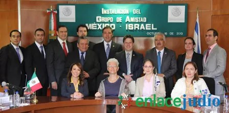 Grupo de Amistad México Israel es instalado en la Cámara de Diputados