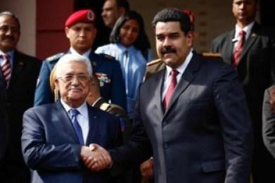 Enlace-Judio- Maduro-recibe- a Abbas- y -reitera- apoyo- a- Estado- Palestino-image