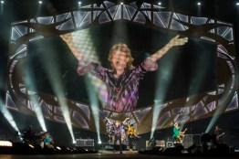 Los Rolling Stones dieron este miércoles un controvertido concierto en Israel, pese a que militantes propalestinos les pidieron que no lo hagan, considerando que sería como actuar en Sudáfrica en la época del apartheid. Fuente: AFP