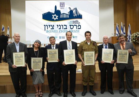 Nefesh B'Nefesh honra a 6 olim por sus sobresalientes contribuciones a la sociedad israelí