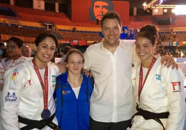 delegación judo femenino israel en cuba