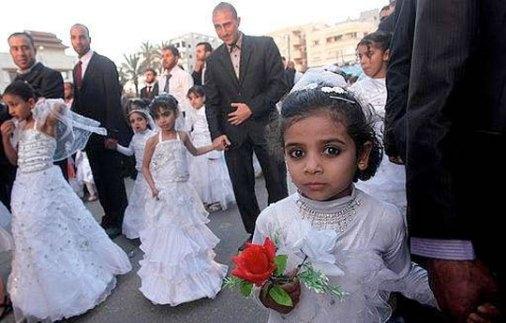 matrimonios musulmanes con niñas