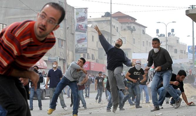 """El palestino que grita """"¡Am Israel Jai!"""""""