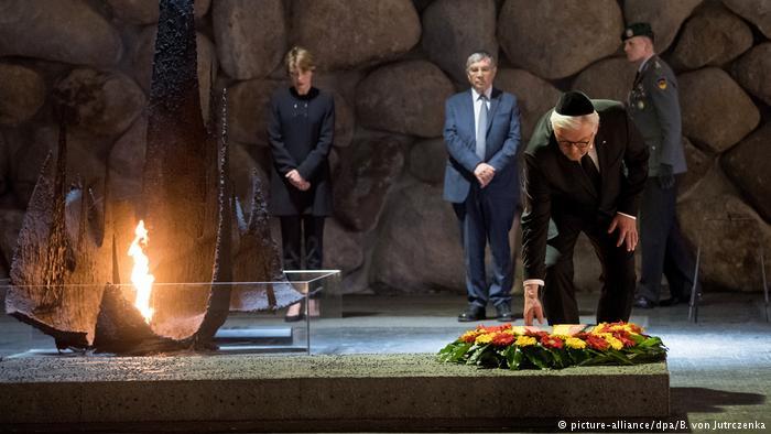 Presidente de Alemania, de visita en Jerusalem, promete apoyar a Israel